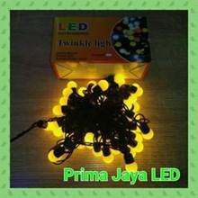 Lampu LED Twingkle Anggur Kuning