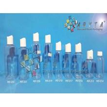Botol Plastik PET 60ml 100ml 200ml 250ml Lena Joni Tutup Plastik & Press on
