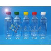 Jual Botol Kemasan - Botol Plastik Minuman 250ml Cimory Tinggi Tutup Warna-Warni