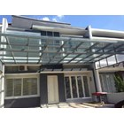 Sell stainless steel and Glass Canopy tralis window