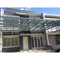 Jual kanopi kaca stainless steel dan tralis jendela