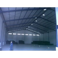 Sell construction steel warehouse