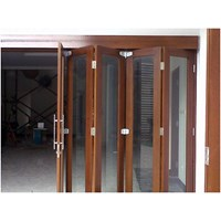 Sell Regular folding doors with wheels over the Middle