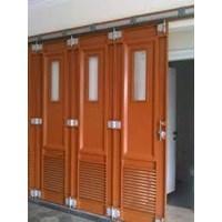 Jual rel pintu garasi minimalis