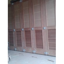 contoh pemasangan pintu garasi