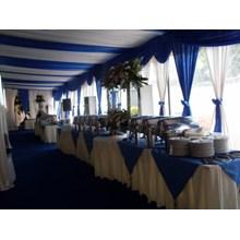 Dekorasi tenda Pesta Murah