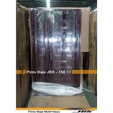 Pintu Besi Motif Kayu JBS Type 120 - 11