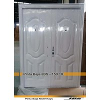 Jual Pintu Besi Motif Kayu JBS Type 150.10
