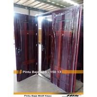 Jual Pintu Besi Motif Kayu JBS Type 150.13