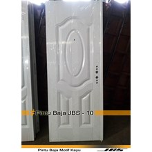 Pintu Besi Minimlias Putih - JBS DOOR TYPE 90.10