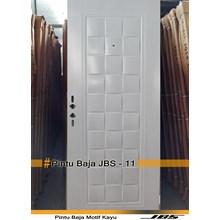 Pintu Besi Minimalis Putih - JBS DOOR TYPE 90.11