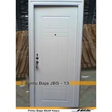 Pintu Besi Minimalis Putih - JBS DOOR TYPE 90.13