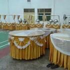 cover meja dan poni meja dekorasi tenda