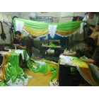 dekorasi tenda dan aksesoris tenda alya jaya tenda