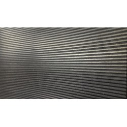 Rubber mat Fine Ribbed