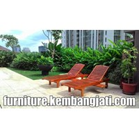 Sell Chair Outdoor Beach Chairs Lounger Teak Lounge Chairs Sunbad Jakarta