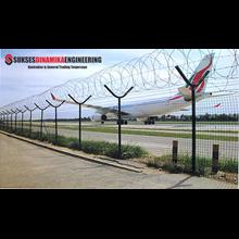 Pagar Brc Galvanis Standart Resmi Pagar Bandara