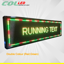 LED lights Running text