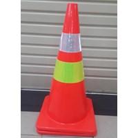 Traffic Cone Base oranye 70 Cm 911
