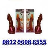 Jual alat bantu sex kondom getar serigala murah 081296086555