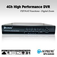 Jual High Performance DVR Supreme 4Ch