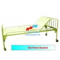 Jual BED PATIENT STANDARD NO CRANK