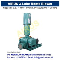 Sell AIRUS Roots Blower & Roots Vacuum Pump