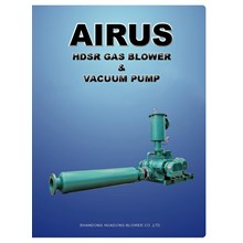 AIRUS NATURAL GAS BOOSTER ROOTS BLOWER AND N2 GAS VACUUM PUMP