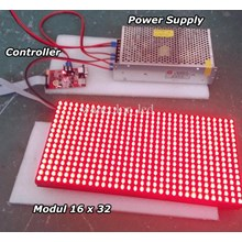Spare Parts Running Text Led