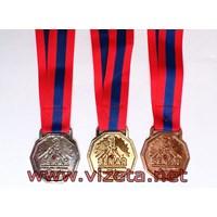 Medali Logam Lari Marathon