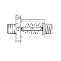 Ball Screw Hiwin Precission Ground Type OFSW TYPE NUTS