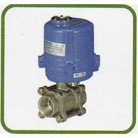 Jual Motor Operating Valves - Screw End Ball Valve