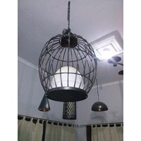 Sell Bird Cage Model Chandelier Copper Materials