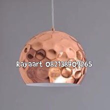 Kerajinan Lampu Gantung Pendant Terbuat Dari Bahan Tembaga Berkualitas