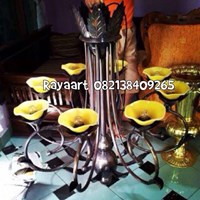Lampu Robyong Single Tangkai  8