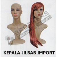 Jual Kepala Jilbab Import