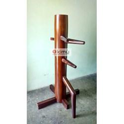 Mok Yan Jong Atau Boneka Kayu Wing Chun Atau Wooden Dummy 155Cm