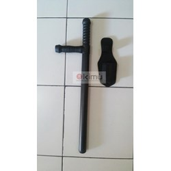 Black Tonfa Stick ABS Power Strike