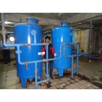 Sell SAND FILTER and CARBON FILTER CAPACITY of 20 M3 PER HOUR