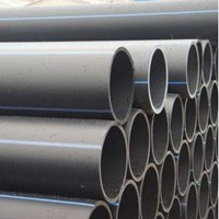HDPE pipe Wavin Black