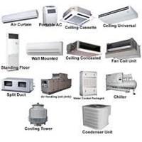 Jual Daftar Harga Air Conditioner Split AC