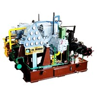 Multistage Condensing Steam Turbine With Bleed