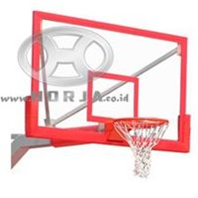 Bola Basket Papan Pantul Basket Fiber Tebal 15 Mm