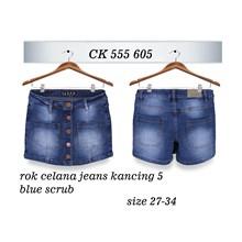 Rok Celana Jeans CK 555 605 (size 31-34)