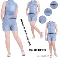 Jual jeans hotpants mini wearpack CW 112 ET 004