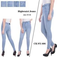 celana highwaist jeans CK 971 606 ( size 31-34)