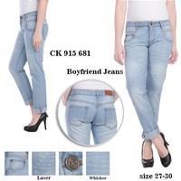 Jual celana boyfriend jeans CK 915 681 ( size 27-30)