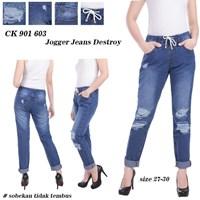 Jual celana jogger jeans CK 901 603 ( size 27-30)