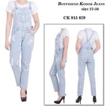 celana boyfriend kodok jeans CK 915 829