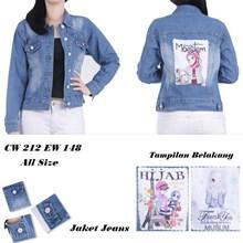 Jaket jeans CW 212 EW 148 (All size)